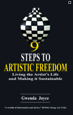 9 Steps Single Cover book art freedom artistic